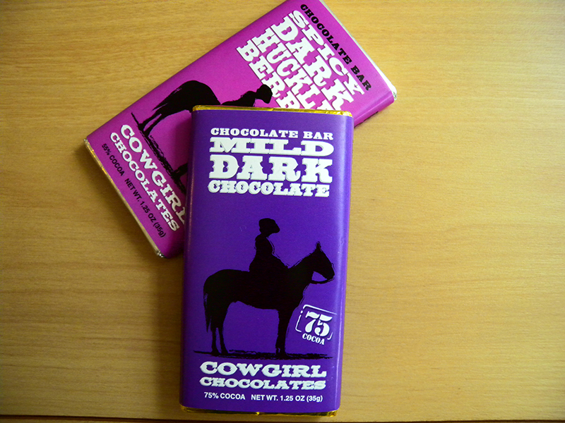 cowgirl chocolate case