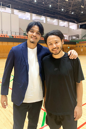 渡邉拓馬・田臥勇太_BS12「水曜バスケ」